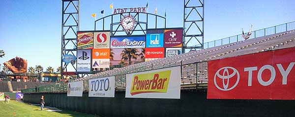 Pacific Color Graphics outdoor signage printing in the San Francisco Bay Area